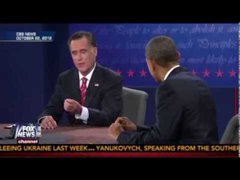 Romney & Obama on Russia during the 2012 Presidential Debate