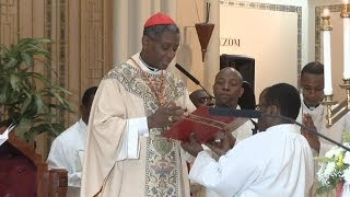 VIDEO: Haiti Cardinal Chibly Langlois fe la mes nan Brooklyn NY