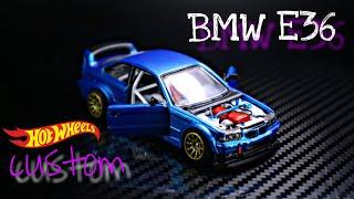 E36 BMW Hot Wheels Custom