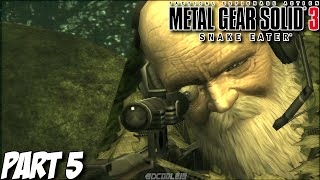 Let's Play Metal Gear Solid 3 Snake Eater HD - Part 5 - The End Boss Battle - Playstation 3