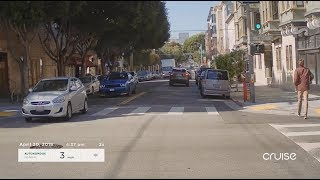 Self-Driving Cruise Car Makes 1,400 Left Turns in San Francisco Every Day