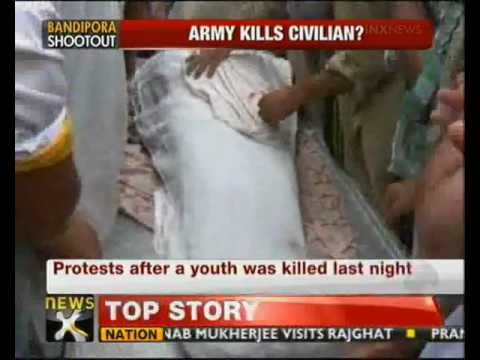 Kashmir: Youth killed in Army firing - NewsX