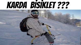 Kar Bisikleti Yeni Favorim ( Kartepe Kayak Merkezi )
