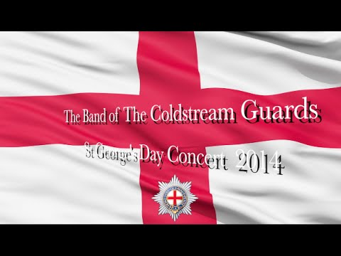 Coldstream Guards Band St George's Day 2014