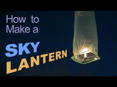 How to Make a Sky Lantern thumbnail