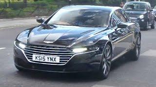 FIRST Aston Martin Lagonda on the roads in UK