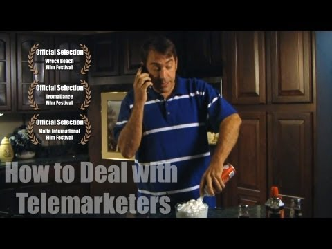 HOW TO DEAL WITH TELEMARKETERS 04