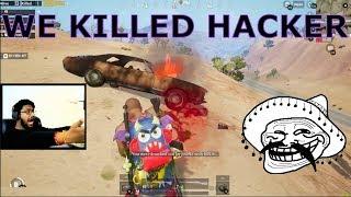 HACKER CHALLENGED ME SO WE KILLED HIM😂 || PUBG MOBILE HACKER LOL