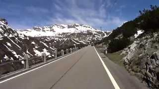 In Moto... al Passo San Bernardino - versante sud (S.Bernardino Pass - south side) HD