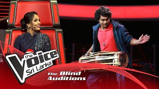 Chanaka madushanka - Nomile Dun Nisa Blind Auditions | The Voice Sri Lanka