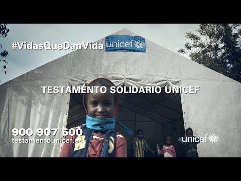 Ya puedes incluir a UNICEF en tu testamento