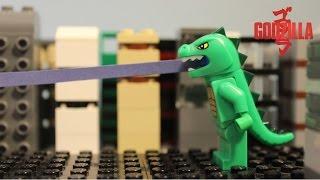 LEGO Cyclops -  Godzilla - Stopmotion