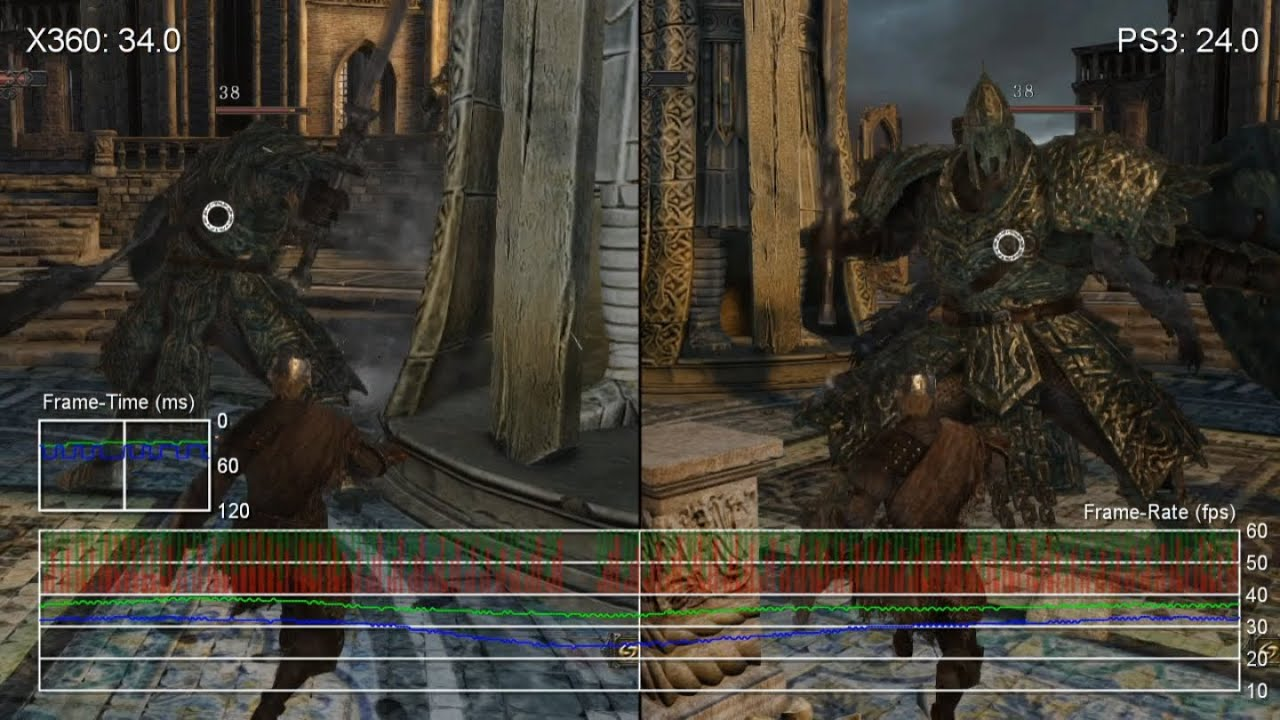Dark Souls 2 Xbox 360 vs