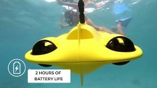 GLADIUS MINI | The World's First Five Thruster Minisize Underwater Drone
