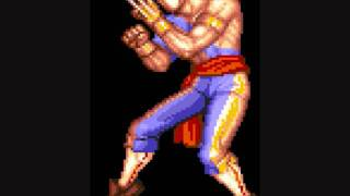 Street Fighter II Champion Edition - Vega Tema