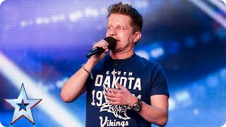 It'll be a tragedy if singer Andy Davis doesn't go through | Britain's Got Talent 2015