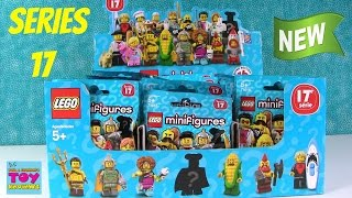 Lego Series 17 Minifigures Minifig Blind Bag Opening Full Set Unboxing | PSToyReviews