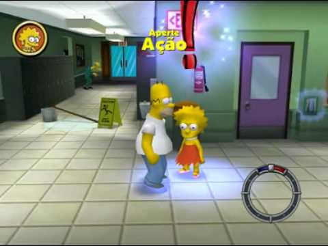 Simpsons (Hit & Run) 1 ! Cueca Sex,Lisa Esquecida ?