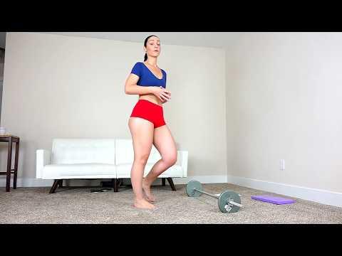 Sexy Big Booty Model Workout! thumbnail