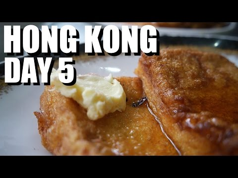 Hong Kong Food Travel Day 5 - Classic Breakfast, Steam Hot Pot, and Egg Waffles!