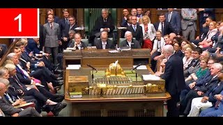 IN FULL | First House of Commons Meet after the Queen's Speech 2017 (21Jun17)