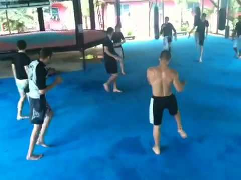 Tiger Muay Thai Conditioning Circuit training Image 1