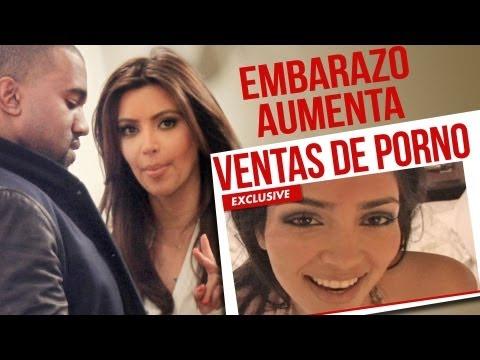 ¡embarazo De Kim Kardashian Aumenta Ventas De Porno! video