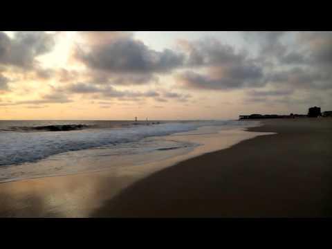 Serene beach in Pointe Noire