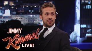 Ryan Gosling on Jimmy Kimmel Live PART 1