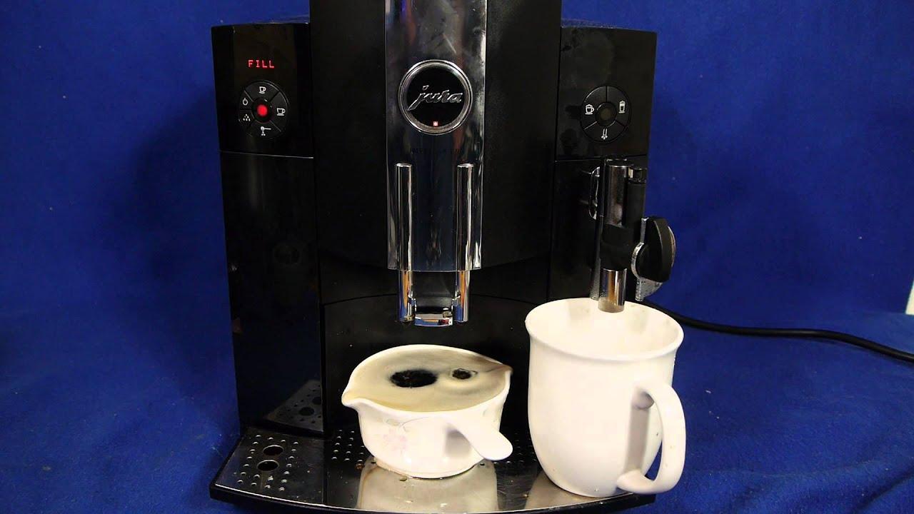 Coffee Maker Demonstrations : JURA C9 Automatic Coffee Maker DEMO - YouTube