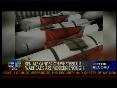 Sen. Alexander Discusses the START Treaty and Nuclear Energy on Fox News