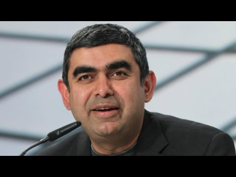 In Conversation With Vishal Sikka On His First Day @ Infosys