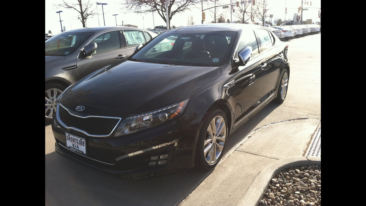 Kia Optima Sxl Turbo 2014 Review