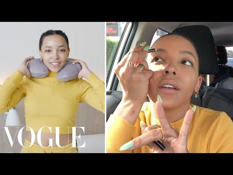 Tinashe's Ski Road Trip Travel Routine | On the Go | Vogue