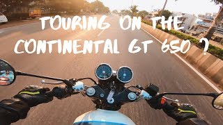 Can you tour on a Royal Enfield Continental GT 650 ?