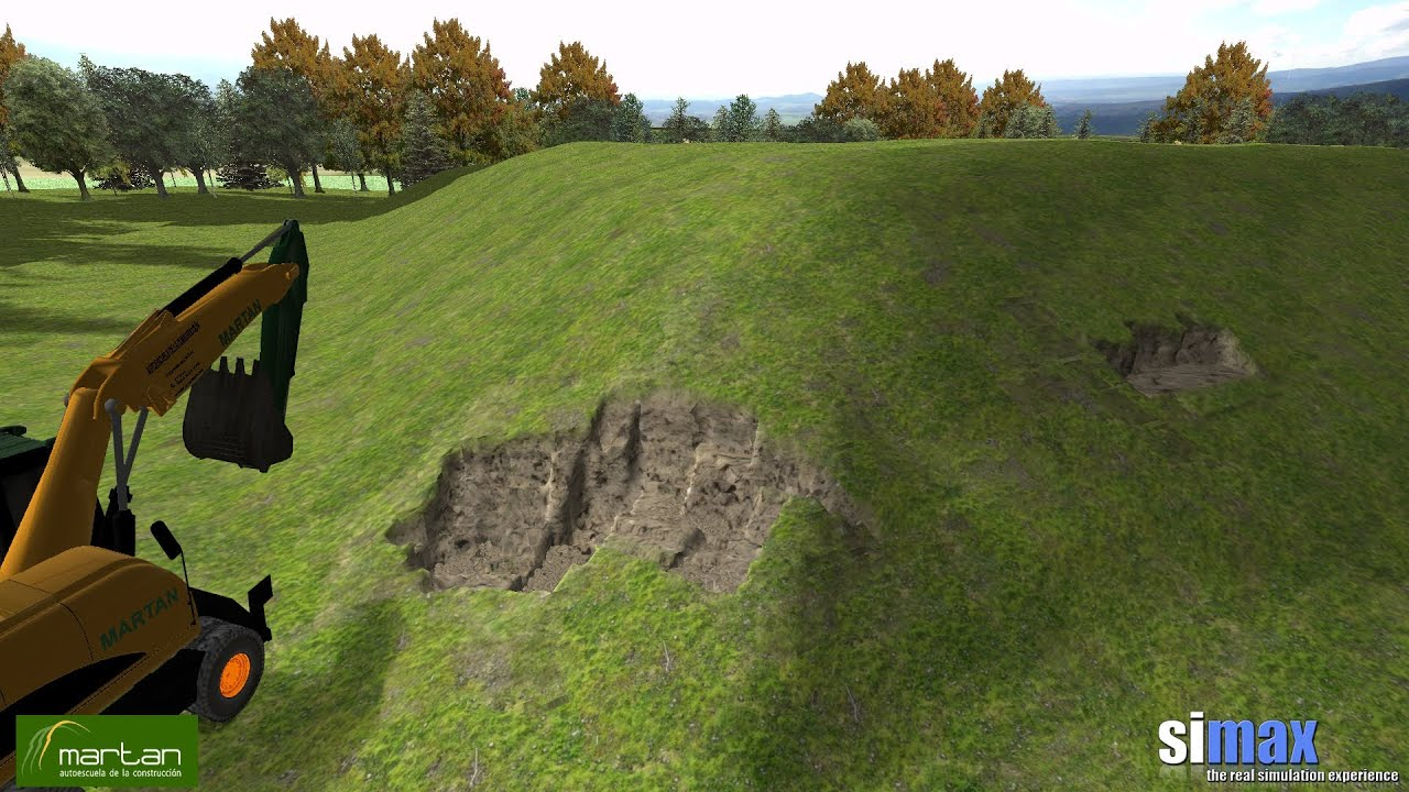Real Excavator Simulator Simax Excavator Simulator