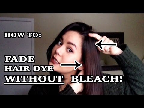 Tutorial How To Strip Hair Dye Color With Baking Soda