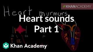 Download Systolic murmurs, diastolic murmurs, and extra heart sounds - Part 1 | NCLEX-RN | Khan Academy 3Gp Mp4
