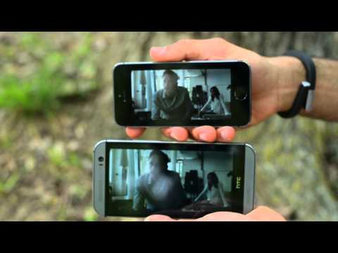 HTC One (M8) vs iPhone 5s