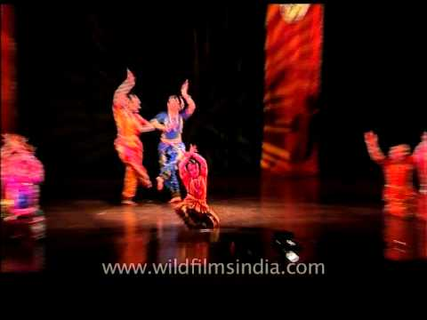 Bharatnatyam a classical dance form of India