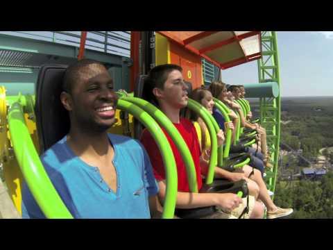 Zumanjaro: Drop of Doom - Tallest Drop Ride in the World!