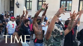 Dozens Arrested During St. Louis Protests By Riot Police, More Peaceful Protests Planned | TIME