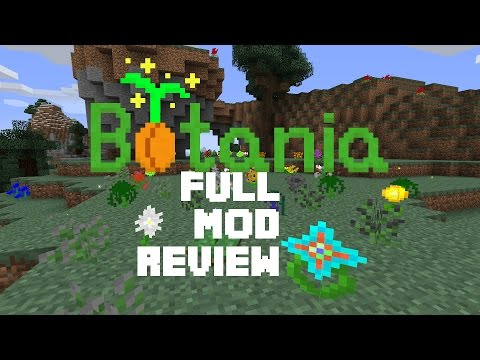BOTANIA - Full Mod Review / Guide - ALL FEATURES + Alfhomancy 2015