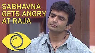 Raja Wets Sabhavna's Bed - Bigg Boss India - Big Brother Universe