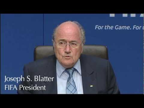 FIFA-INTERPOL Press conference
