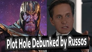 Avengers Endgame Plot Hole DEBUNKED!! Thanos Did THIS??