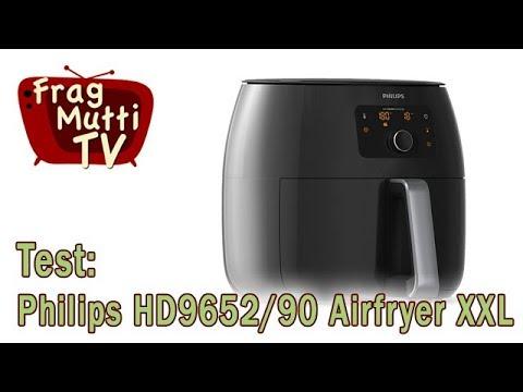 Philips HD9652/90 Airfryer XXL Heißluftfritteuse im Test | Frag Mutti TV