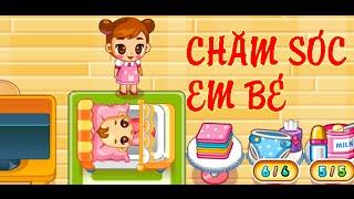 Game chăm sóc em bé - Video hướng dẫn chơi game 24h