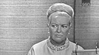 What's My Line? - Betty Grable; Steve Allen [panel] (Aug 29, 1965)