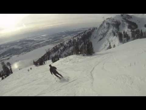 Jackson Hole, WY Gopro Skiing